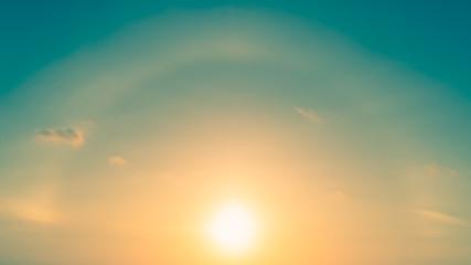Gentle sunsets on Phuket Island, Thailand, bright light, comfortable eyes Timelapse video 4k.