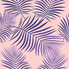 Creative purple leaves background