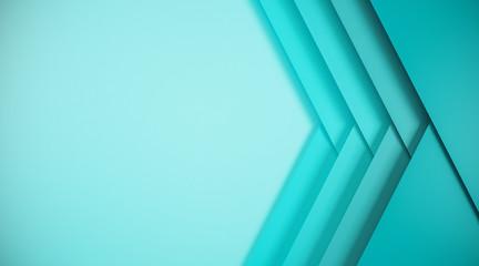 Fotobehang - Abstract blue web banner