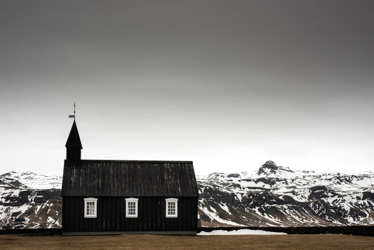 Budir Church, Snaefellsnes, Iceland