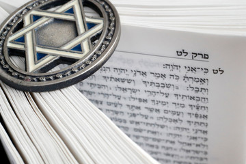 Torah and Star of David, two symbols of Judaism, Vietnam
