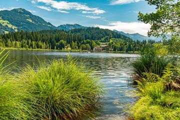 Der Schwarzsee bei Kitzbühl und Reith
