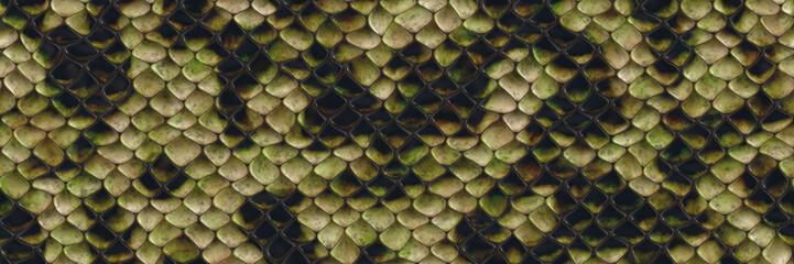 Background 3d illustration- seamless snake pattern. Animal decorative