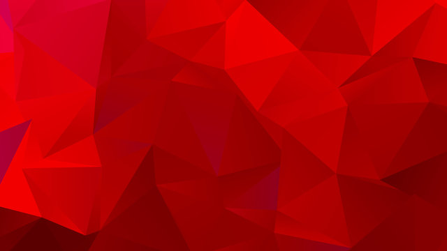 Dark Red Low Poly BG for Banner