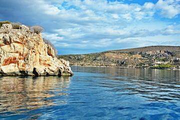 Greece-view on seacoast