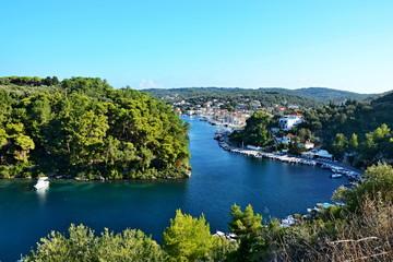 Greece,island Paxos-view of the town Gaios