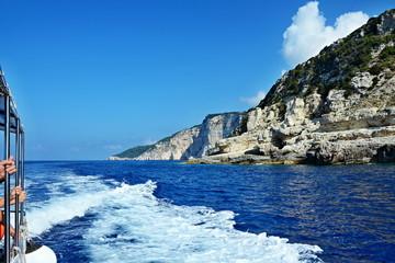 Greece,island Paxos-cruise around the island