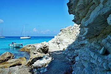 Greece,island Antipaxos-view from the Vrika beach