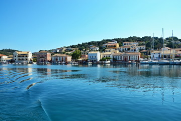 Greece,island Paxos-view of the waterfront Gaios