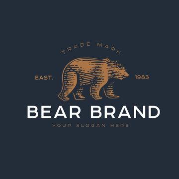 Logotype of the bear.