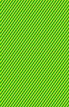 A crisscross lime green and darker green pattern.
