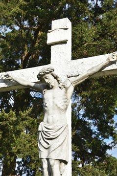 Crucifix in Cemetery