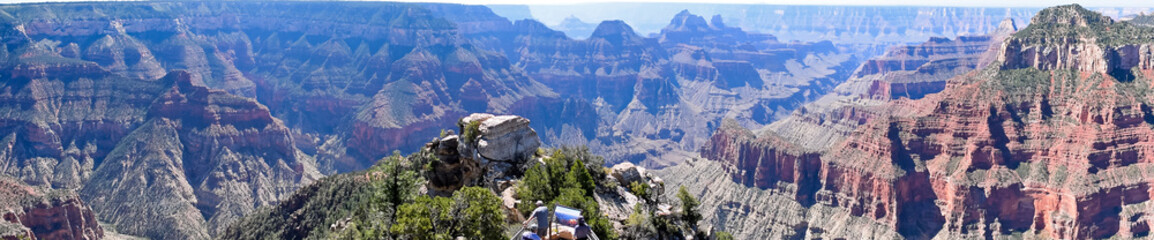 Grand Canyon National Park North Rim, USA. One of the Worlds 7 Natural Wonders