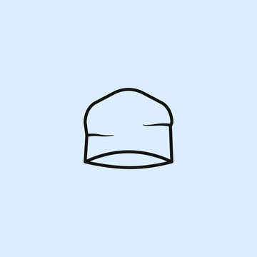 Beanie Hat icon. Elements of life style icons. Premium quality graphic design icon. Can be used for web, logo, mobile app, UI, UX