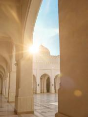 Sultan Qaboos Mosque in Salalah Sultanate of Oman