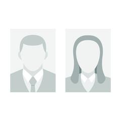 Id photo vector design illustration isolated on white background