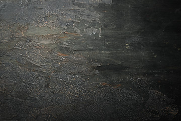 Old brown stone background. Top view. Free space for your text.
