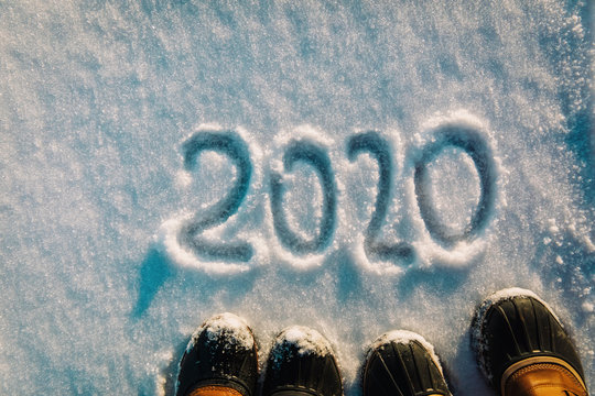 feet in snow boots in 2020 in winter nature