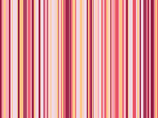 Striped pink seamless pattern. Abstract background with vertical lines. Vector illustration.