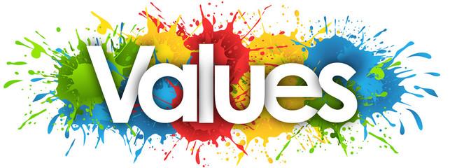 values in splash's background