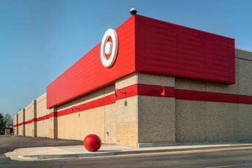 Corner of Target store