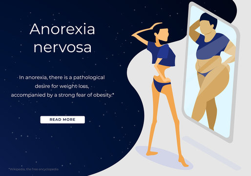 Nervosa Anorexia Disorder, Unhealthy Nutrition