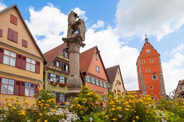 Löwenbrunnen Dinkelsbühl