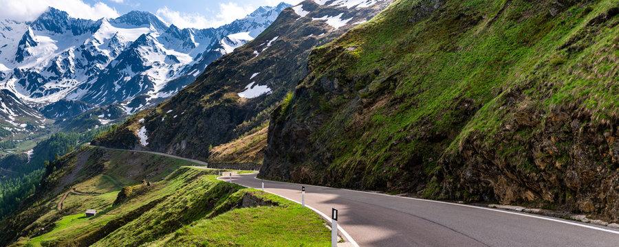 Timmelsjoch mountain pass, Passeier Valley, Alto Adige, Italy