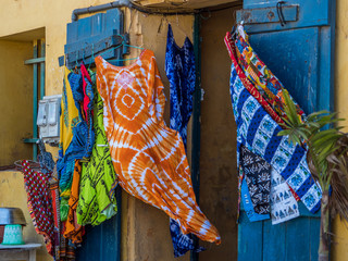 Typical art, Goree, Senegal