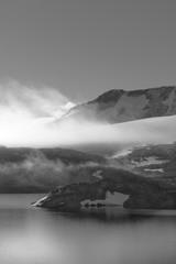 Sonnenaufgang im Fjord Norwegen 1