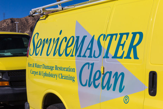 ServiceMaster Vehicle and Logo