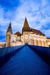 corvin Castle or Hunyad Castle, Hunedoara, Romania