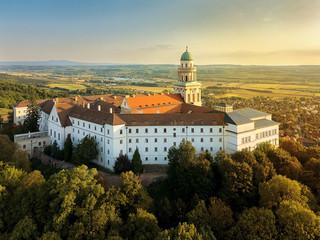 Pannonhalma Abbey in hungary. High school, landmark, faith