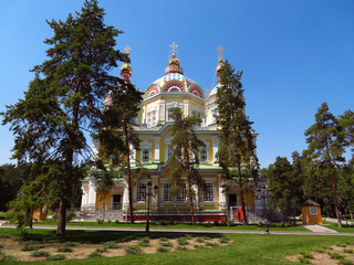 Almaty - Ascension Cathedral
