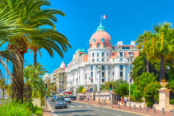 Promenade des Anglais in Nice (Nizza), France Wall mural