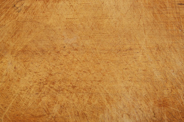 Old used cutting board background Wall mural