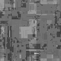 Technical grid seamless displacement map for 3d rendering