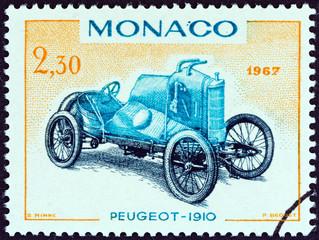 Peugeot Grand Prix racing car of 1910 (Monaco 1967)