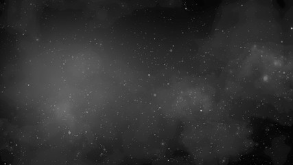 Particles and stars in galaxy, abstract background Fototapete