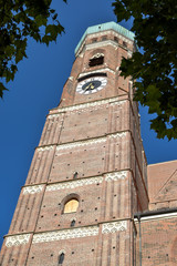 Wall Mural - Frauenkirche - Monaco di Baviera