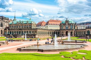 Architecture of Dresdner Zwinger, Dresden, Germany Fototapete