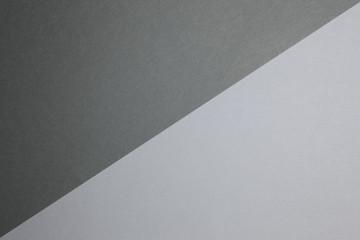 二色のカラーペーパー背景