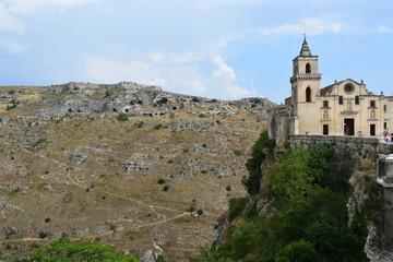 Fototapeta historyczne miasto Matera, Włochy obraz