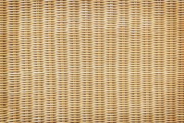 Obraz Rattan or wicker weave texture background - fototapety do salonu