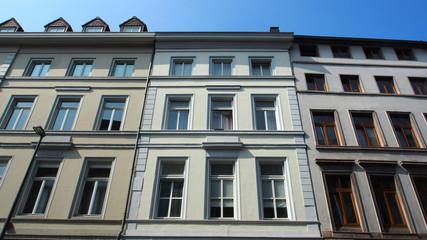 Aachen, NRW, Deutschland: Altbauten in der Innenstadt
