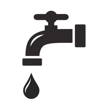 tap water icon vector design illustration