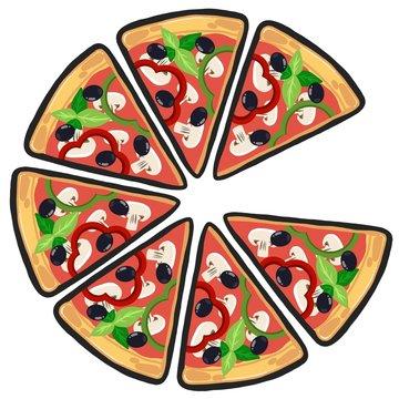 Pizza a fette