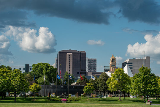 Rochester Skyline from Soldiers Field