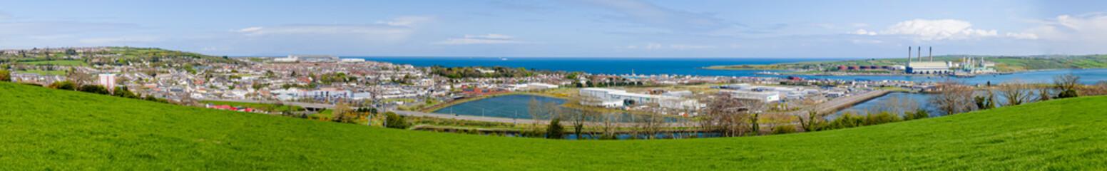 County Antrim town of Larne Fototapete