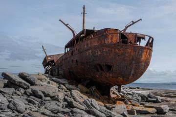 Acrylic Prints Shipwreck Shipwreck on Inisheer